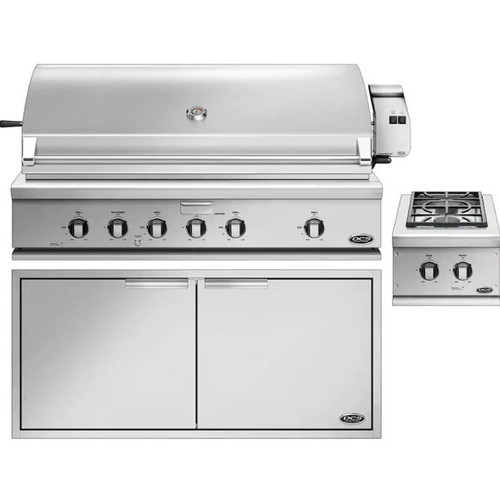 DCS 3-Piece Series 7 48-Inch Natural Gas Outdoor Kitchen Package