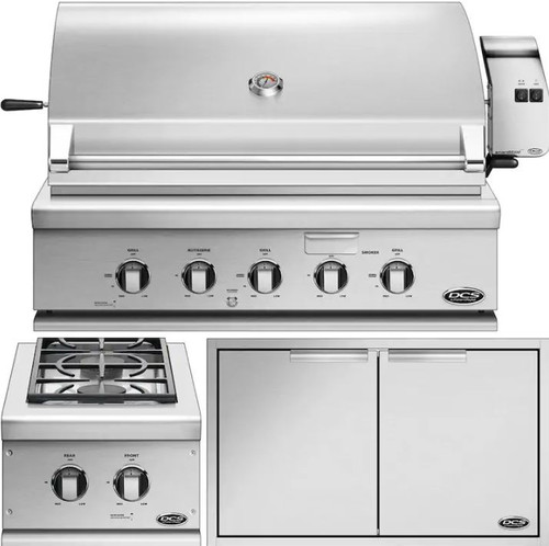 DCS 3-Piece Series 7 36-Inch Propane Outdoor Kitchen Package