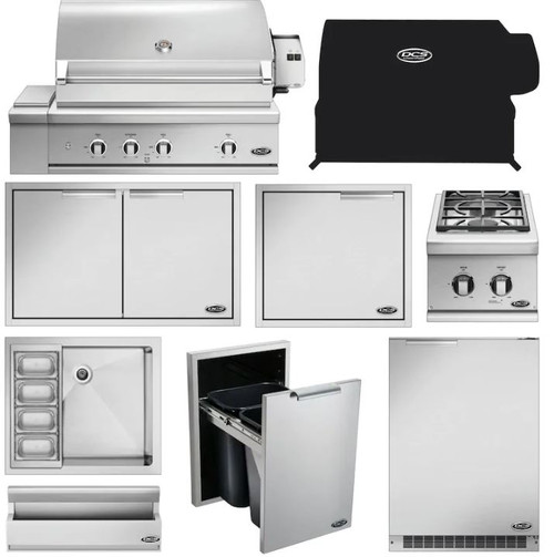 DCS 10-Piece Series 9 36-Inch Propane Gas Outdoor Kitchen Package