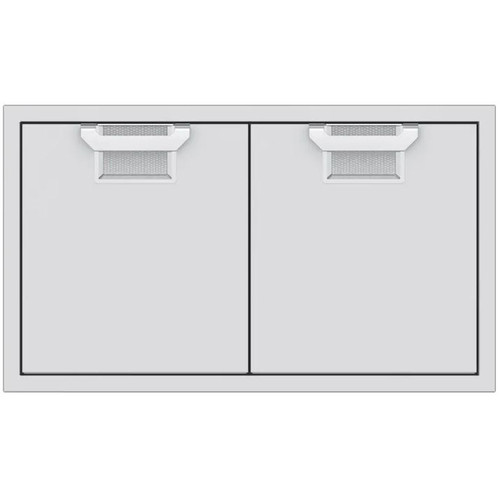 Aspire By Hestan 36-Inch Double Access Doors - Steeletto - AEAD36-SS