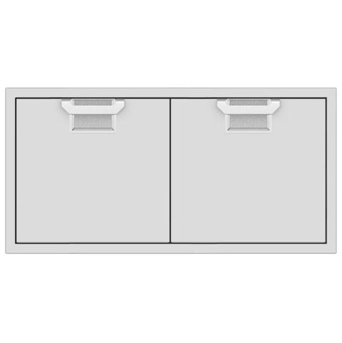 Aspire By Hestan 42-Inch Double Access Doors - Steeletto - AEAD42-SS