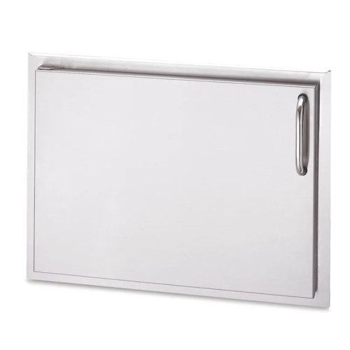 American Outdoor Grill 24-Inch Left Hinged Single Access Door - Horizontal - 17-24-SSDL
