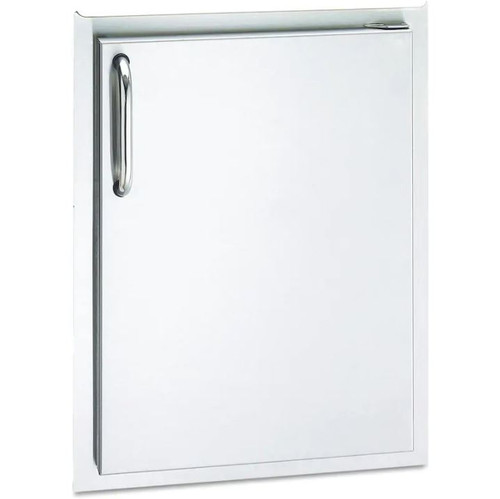 American Outdoor Grill 14-Inch Right Hinged Single Access Door - Vertical - 20-14-SSDR