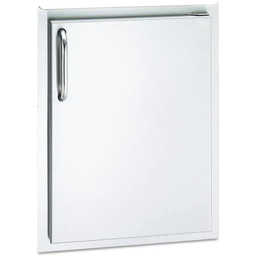 American Outdoor Grill 17-Inch Right Hinged Single Access Door - Vertical - 24-17-SSDR