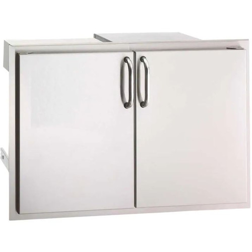 Fire Magic Select 30-Inch Double Access Door With Drawers And Trash Bin Storage - 33930S-12