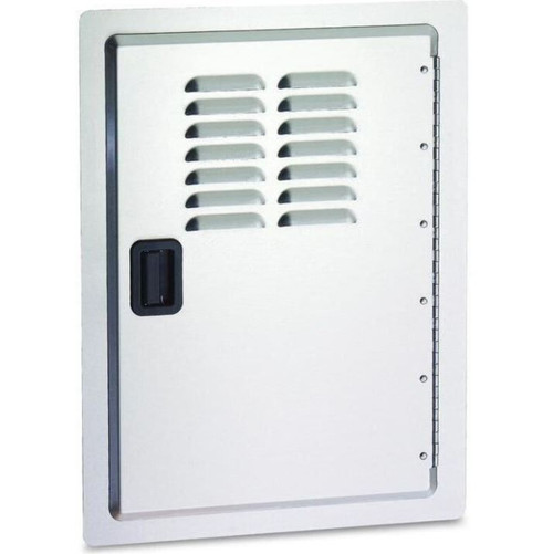 Fire Magic Legacy 14-Inch Stainless Louvered Single Access Door - Vertical - 23920-1-S