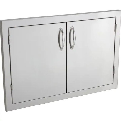 Summerset 30-Inch Stainless Steel Masonry Double Access Door - SSDD-33M