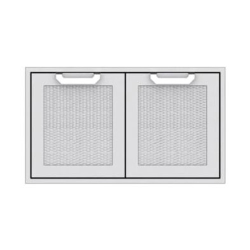 Hestan 36-Inch Double Access Doors - Steeletto - AGAD36-SS