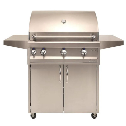 Artisan Professional 36-Inch 3-Burner Freestanding Natural Gas Grill With Rotisserie - ARTP-36C-NG