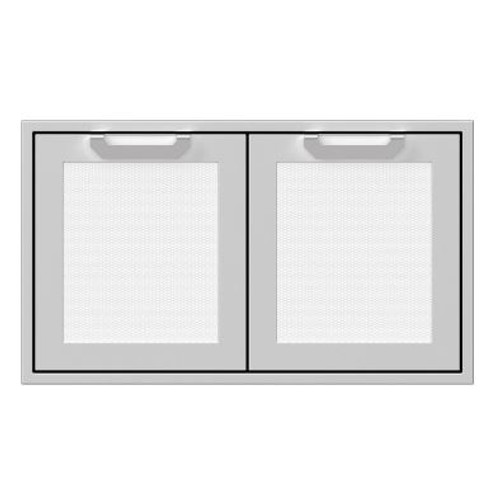 Hestan 36-Inch Double Access Doors - Froth - AGAD36-WH