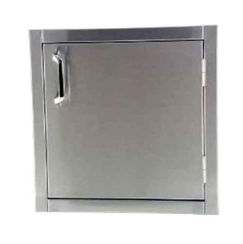 Solaire 21 Inch Flush Mount Single Access Vertical Door - SOL-FMD-21