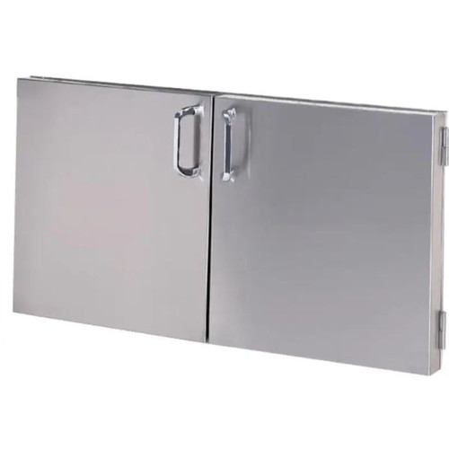 Solaire 36 Inch Raised Double Access Doors - SOL-IRAD-36