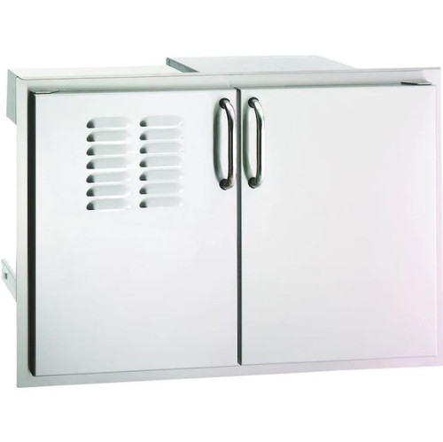 Fire Magic Select 30-Inch Double Access Door With Drawers And Propane Tank Storage - 33930S-12T
