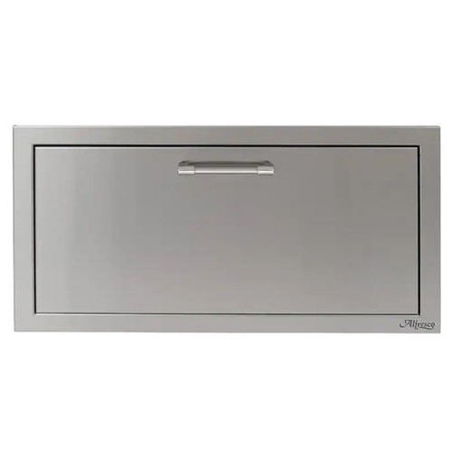 Alfresco 30-Inch VersaPower Stainless Steel Soft-Close Single Drawer - AXE-30DR-SC