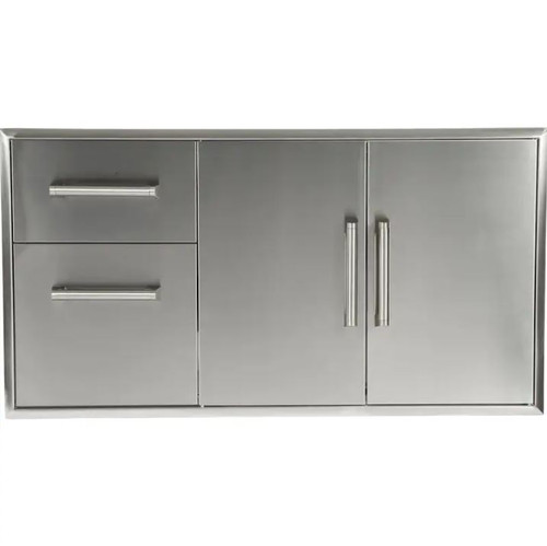 Coyote 45-Inch Double Access Door And Access Drawer Combo - CCD-2DC