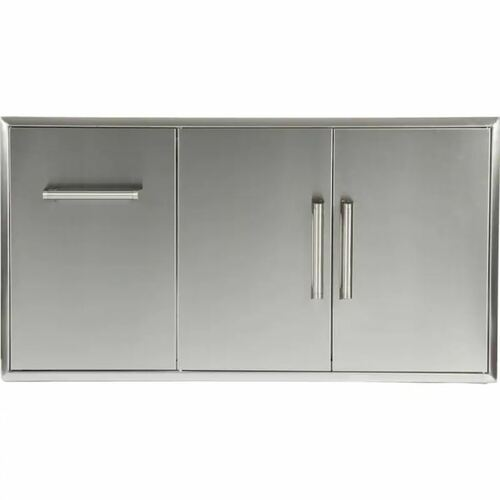 Coyote 45-Inch Double Access Doors With Roll Out Trash/Propane Tank Drawer - CCD-POD