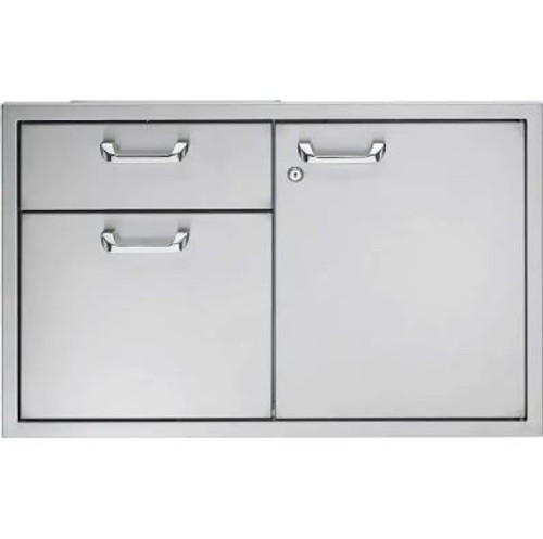 Lynx Professional 36-Inch Access Door & Double Drawer Combo - LSA36