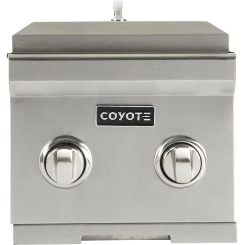 Coyote Built-In Natural Gas Double Side Burner - C1DBNG