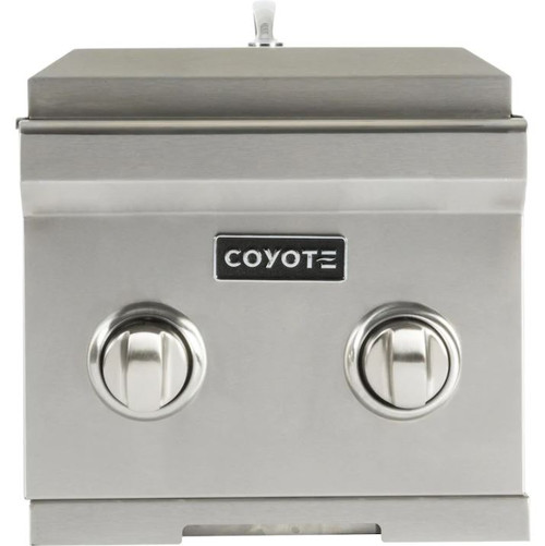 Coyote Built-In Propane Gas Double Side Burner - C1DBLP