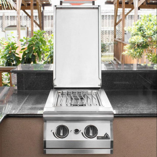 PGS Built-In Natural Gas Double Side Burner