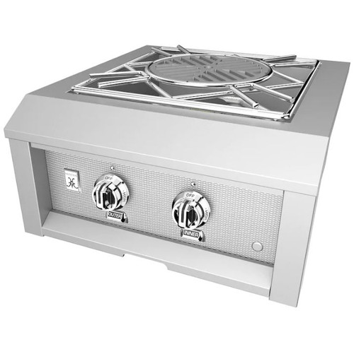 Hestan Built-In Power Burner - Natural Gas - Steeletto - AGPB24-NG-SS
