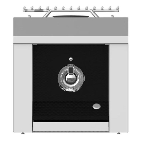 Aspire By Hestan Built-In Natural Gas Single Side Burner - Stealth - AEB121-NG-BK