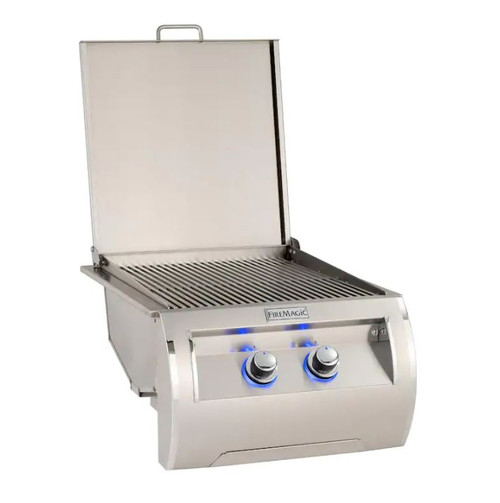 Fire Magic Echelon Diamond Built-In Natural Gas Double Infrared Searing Station - 32885-1
