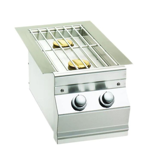 Fire Magic Choice Built-In Propane Gas Double Side Burner - 3281RP