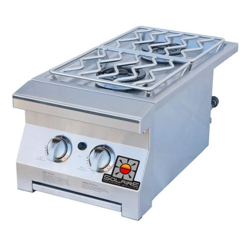 Solaire Propane Built-In Double Side Burner - SOL-IRSB-14-LP