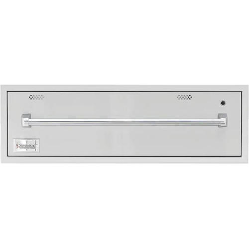 Summerset 36-Inch Built-In 120V Electric Outdoor Warming Drawer - SSWD-36