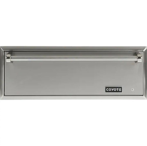 Coyote 30-Inch Outdoor Warming Drawer - CWD