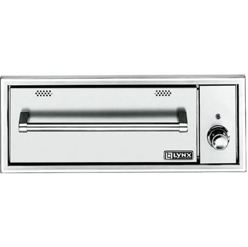 Lynx Professional 30-Inch Built-In 120V Electric Outdoor Warming Drawer - L30WD-1