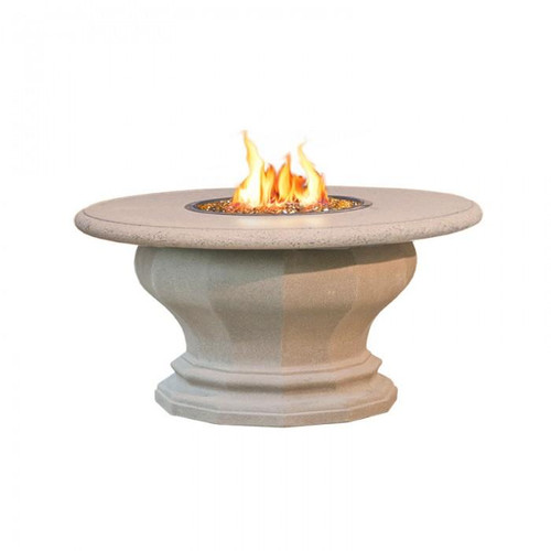 American Fyre Designs   629-BA-11-M2NC Inverted Fire Table with Concrete Top
