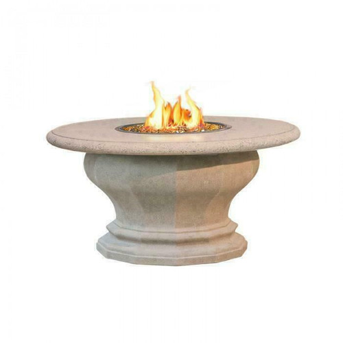 American Fyre Designs | 629-SM-11-M2PC Inverted Fire Table with Concrete Top