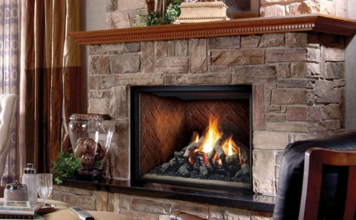 SOLACEZero Clearance Direct Vent Gas Fireplace