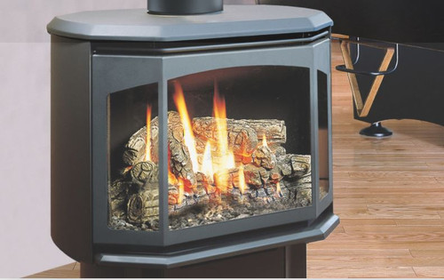 SENTINELFree Standing Direct Vent Gas Stove