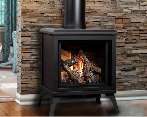 TITANFree Standing Direct Vent Gas Stove