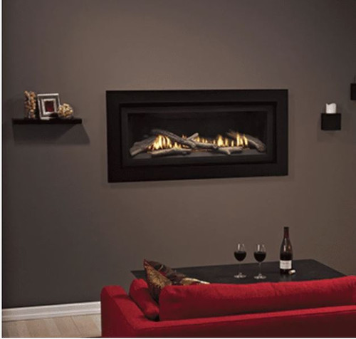 """Empire Boulevard 41"""" Direct Vent Traditional Linear Gas Fireplace 
