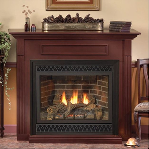 Empire Tahoe Deluxe 42 Direct Vent Gas Fireplace | DVD42FP