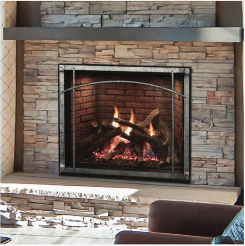 Empire Rushmore 40 Clean Face Direct Vent Gas Fireplace DVCT40CBP