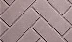 Herringbone brick white