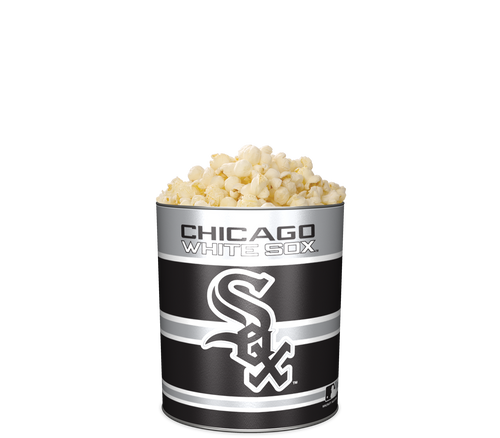 Garrett Popcorn Shops Plain in Classic Chicago White Sox Sport Tin