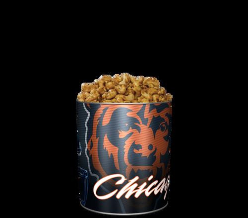 Garrett Popcorn Shops Cashew CaramelCrisp® in Classic Chicago Bears Sport Tin