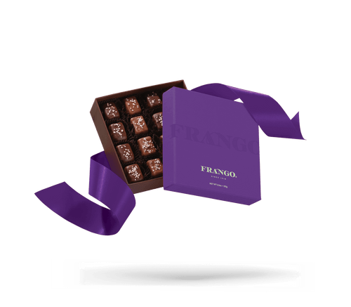 Frango Chocolate Himalayan Salted Caramel Boxed