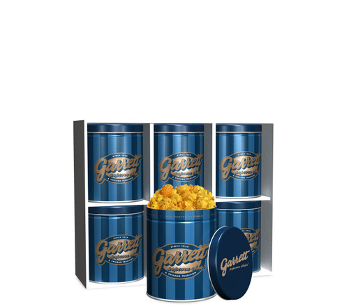 Petite 6-Pack Signature Blue tins of Buffalo Ranch