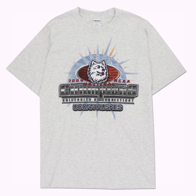 Vintage UConn 2004 NCAA Champions T-shirt