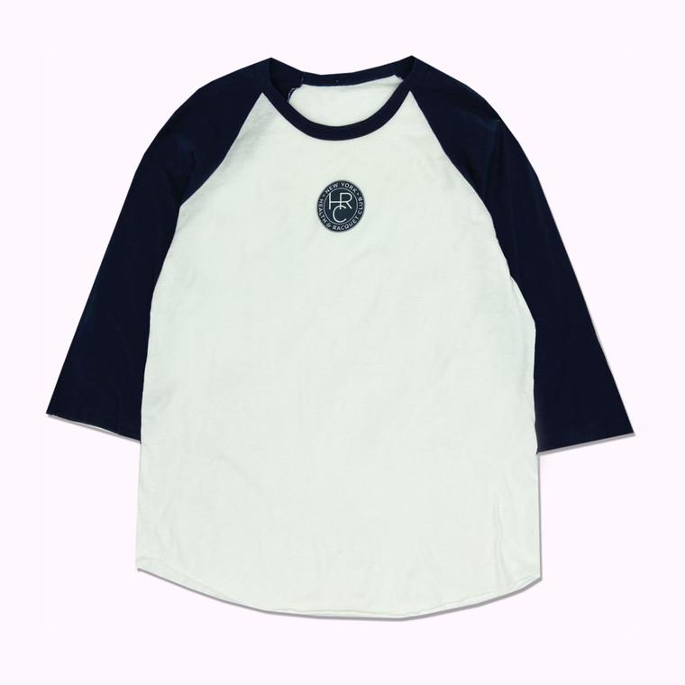 Vintage 90s New York Health & Racquet Club Quarter Sleeve Shirt