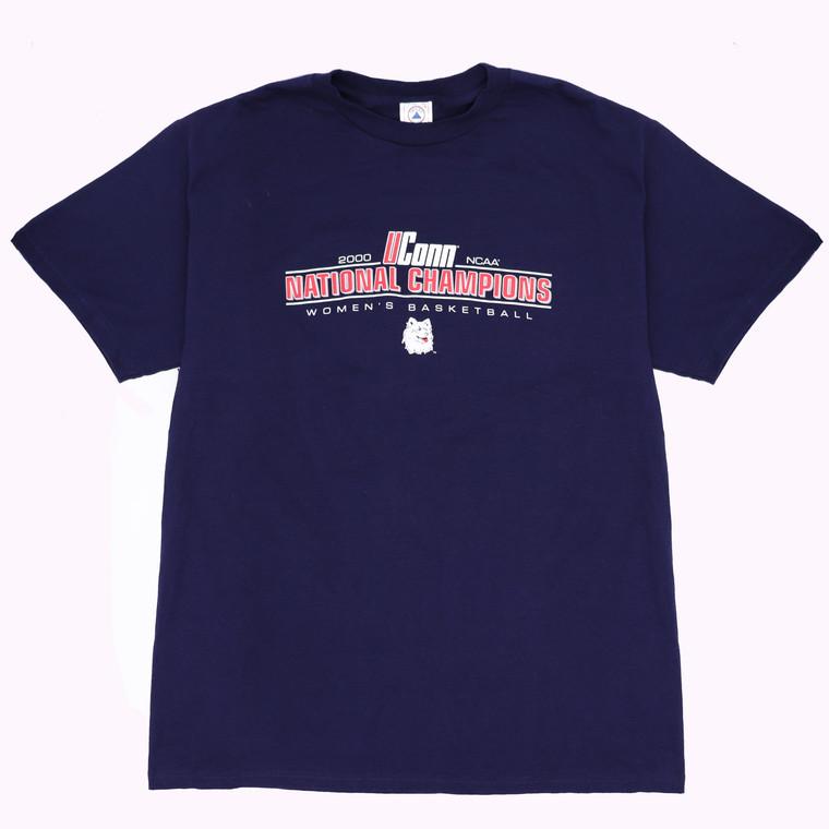 Vintage 2000s  UConn Women's Basketball NCAA Champions T-shirt