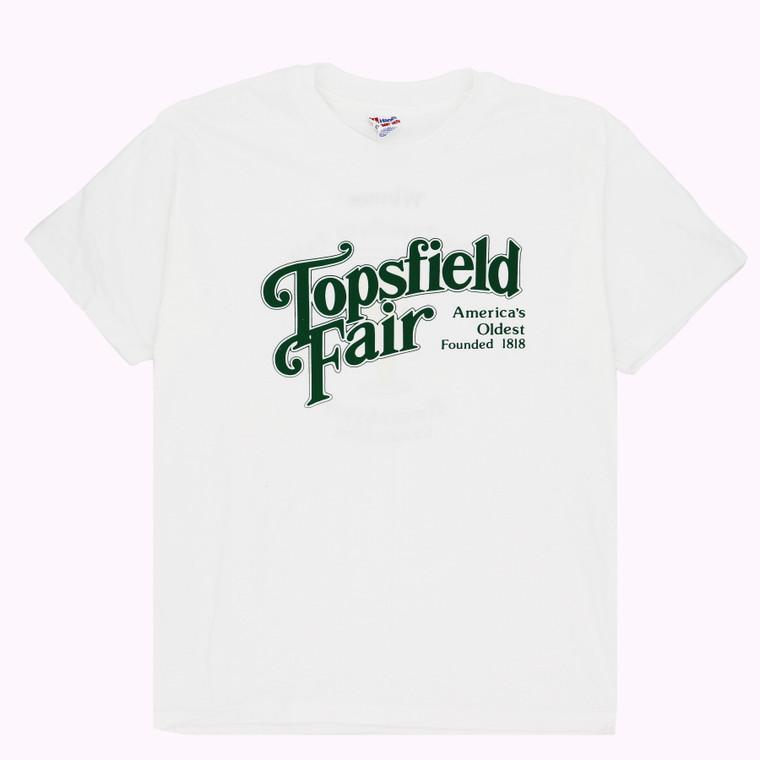 Vintage 90s Topsfield Fair, Massachusetts T-shirt
