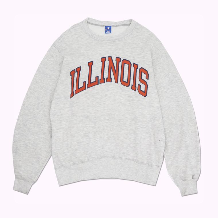 Vintage 90s Champion Illinois Crewneck